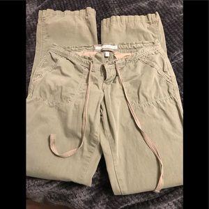 Abercrombie Bootcut long Camo pants